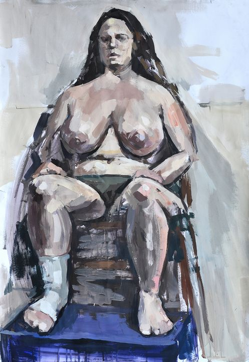 Female nudity - Charalampos Cholopoulos