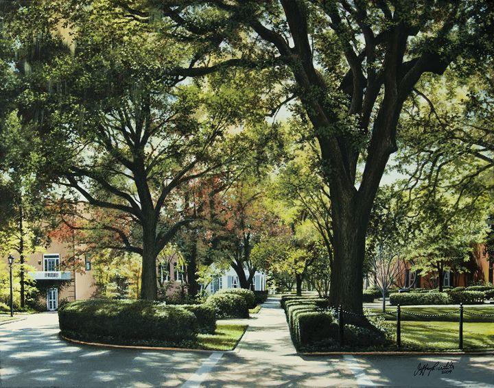 Troup Square - Jeffrey R. White Fine Art