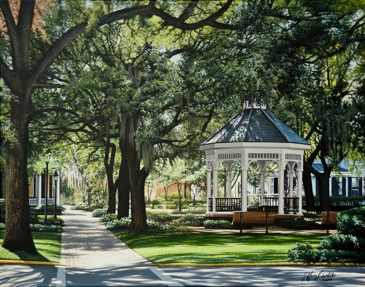 Whitefield Square - Jeffrey R. White Fine Art