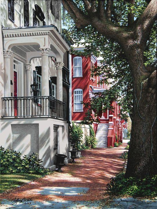 Strolling Down Jones Street - Jeffrey R. White Fine Art