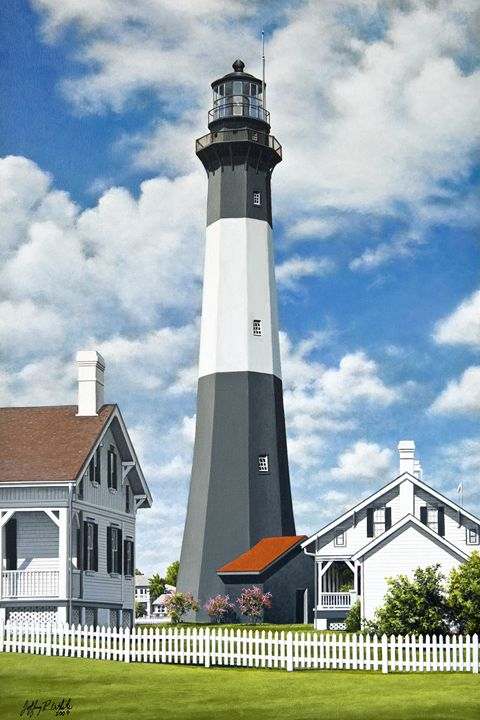 Tybee Island Lighthouse - Jeffrey R. White Fine Art