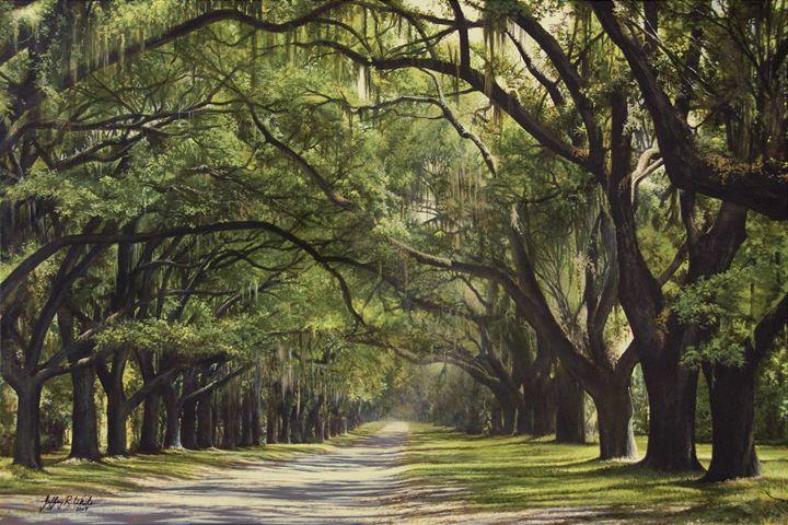 Wormsloe Plantation - Jeffrey R. White Fine Art