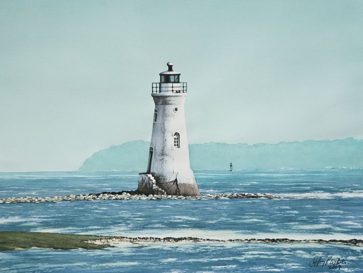Cockspur Island Light - Jeffrey R. White Fine Art
