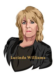 VEXEL ART LUCINDA WILLIAMS