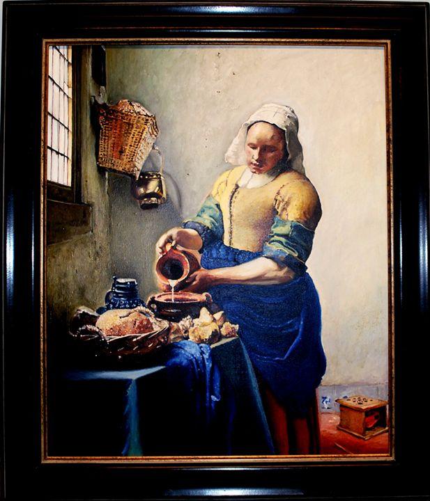 The Milkmaid - Obia Art