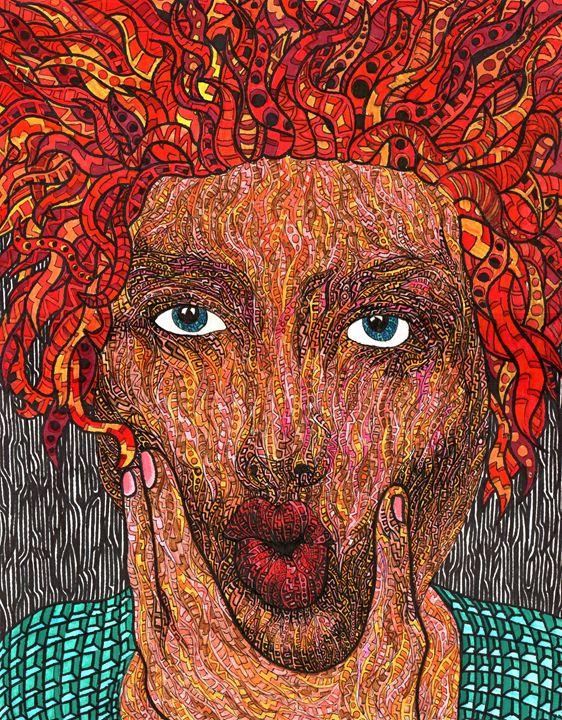 Medusa's Kiss - Ben Roback's Art