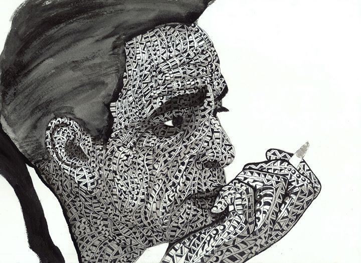 jhonny cash - Ben Roback's Art