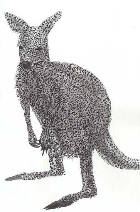 kangaroo - Ben Roback's Art