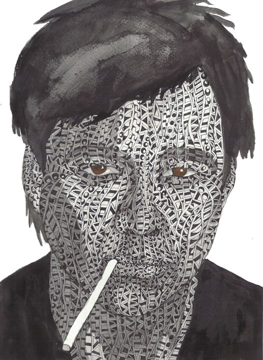 bill hicks - Ben Roback's Art