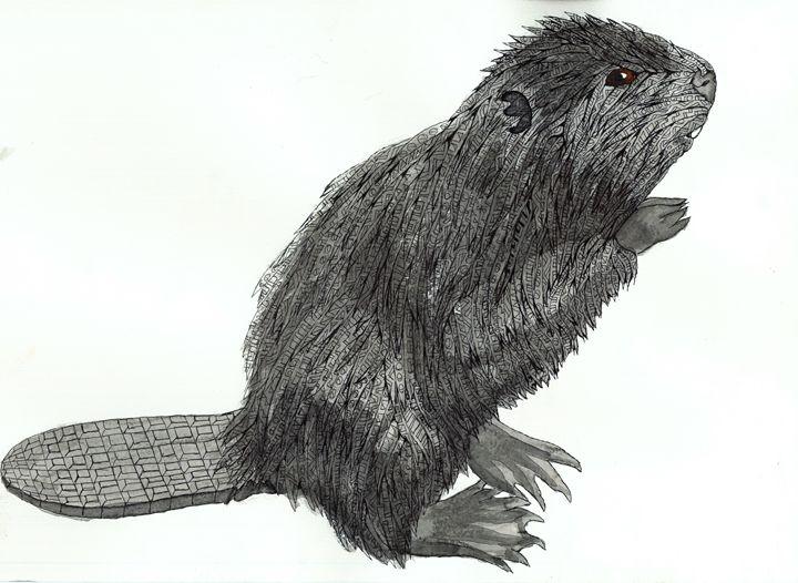 beaver - Ben Roback's Art