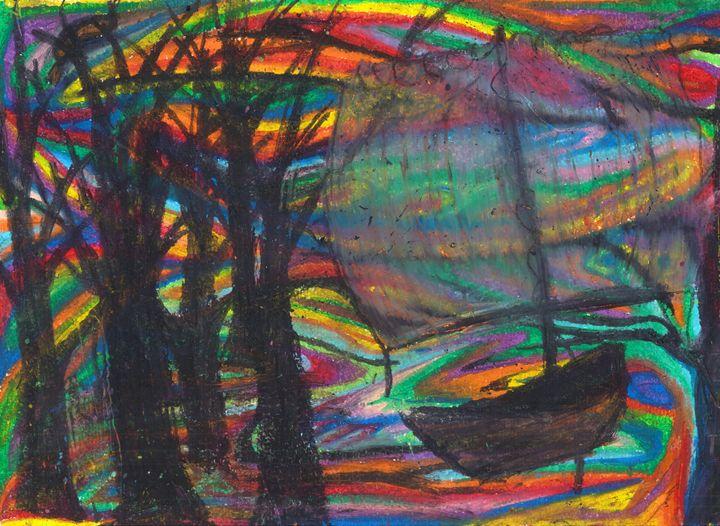 crystal ship - Ben Roback's Art