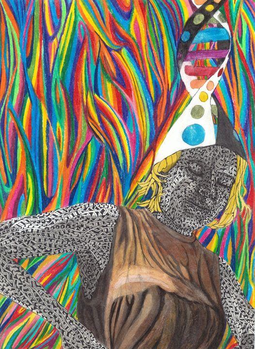 looking down - Ben Roback's Art