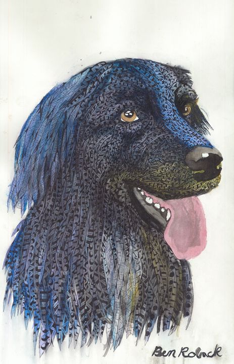 rain dogs - Ben Roback's Art