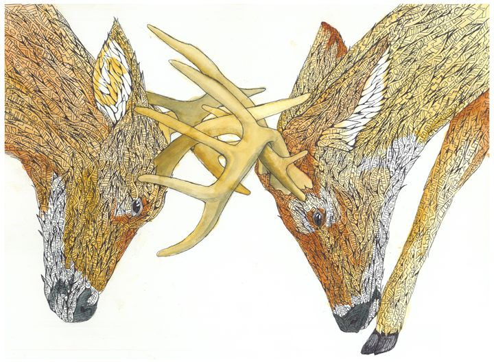 clash - Ben Roback's Art