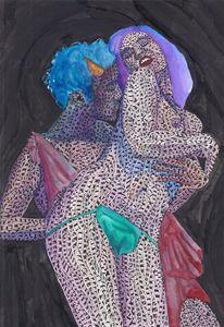 bacchanalia - Ben Roback's Art