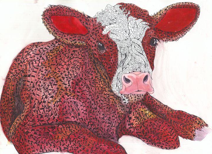 red calf - Ben Roback's Art