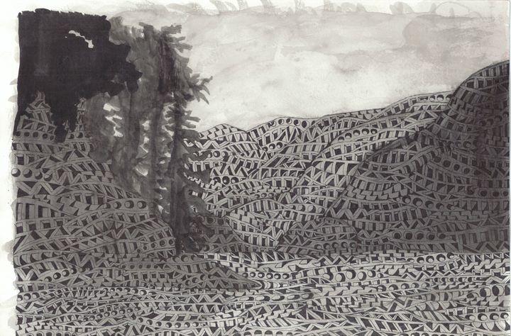 Deep Cove - Ben Roback's Art