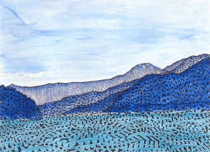 howe a wisper sounds - Ben Roback's Art