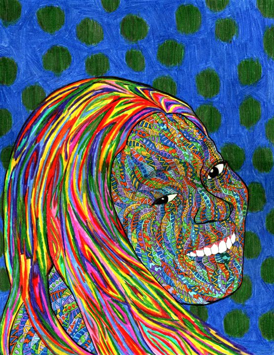 rainbow perspiration - Ben Roback's Art