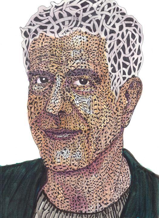 anthony bourdain - Ben Roback's Art