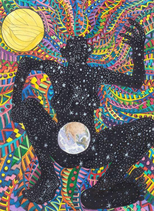 curtain of night - Ben Roback's Art