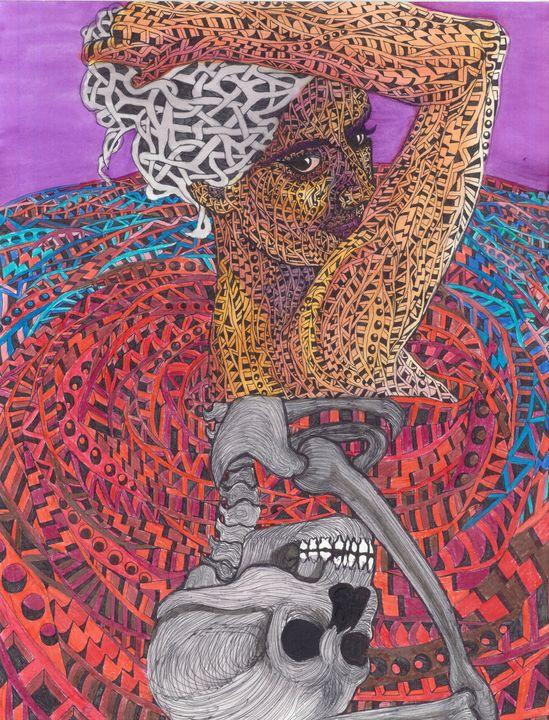blood bath - Ben Roback's Art
