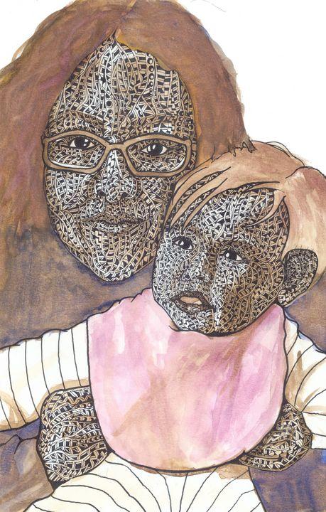 tummy mommy - Ben Roback's Art