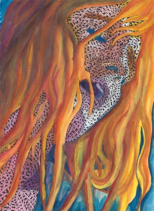 florence sans the machine - Ben Roback's Art