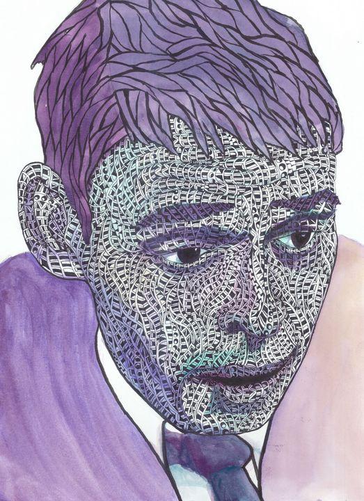 jacque purple - Ben Roback's Art