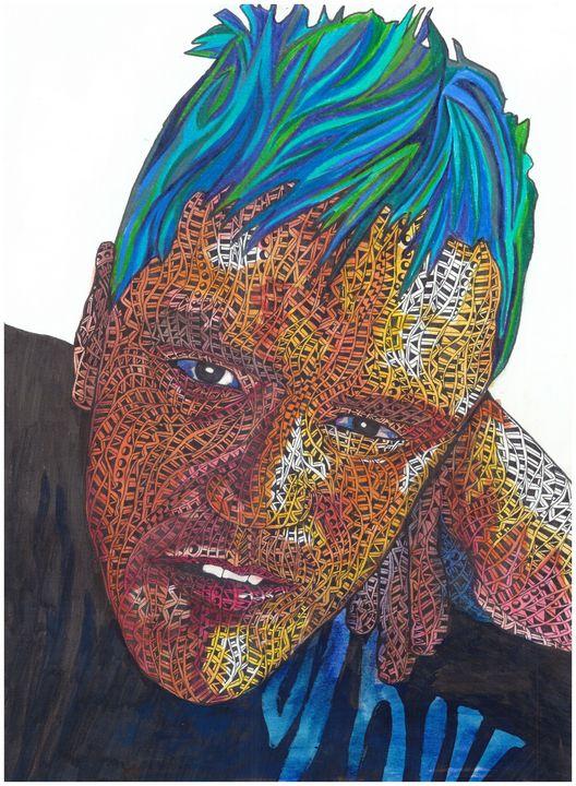 That hair though - Ben Roback's Art