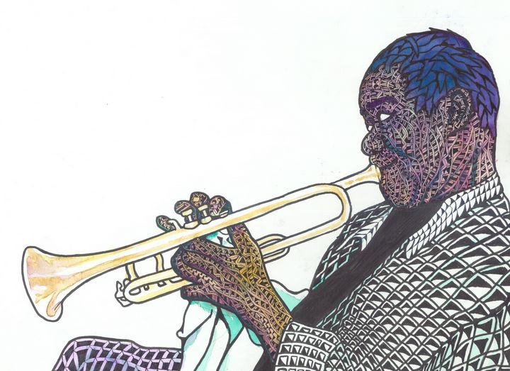 gabriel's trumpet - Ben Roback's Art