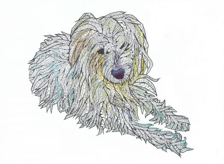 smelly dog - Ben Roback's Art