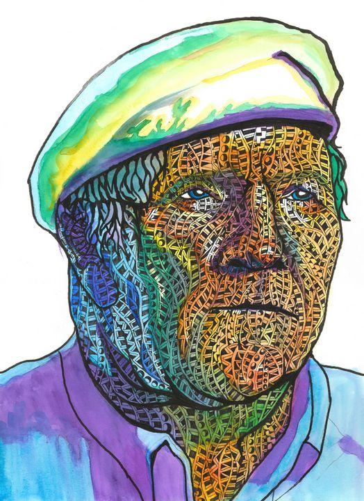 Hard lived umpa lupa - Ben Roback's Art