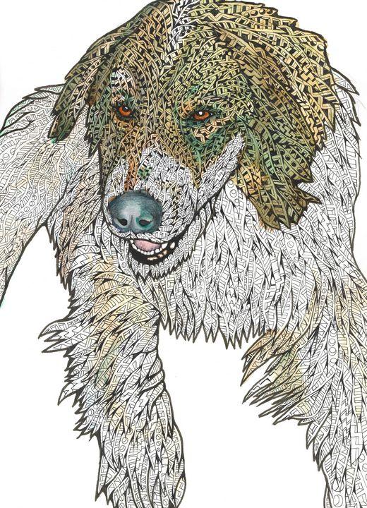 snow dog - Ben Roback's Art