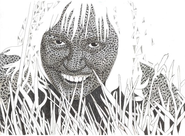 IN the Grass - Ben Roback's Art