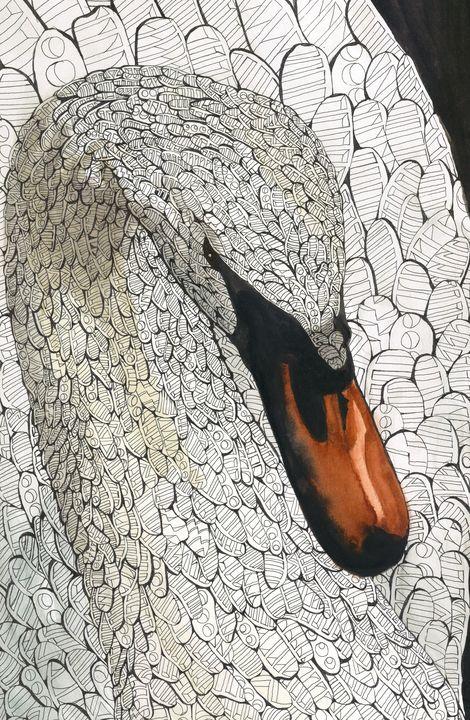 swan - Ben Roback's Art