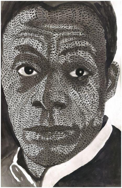 james baldwin - Ben Roback's Art
