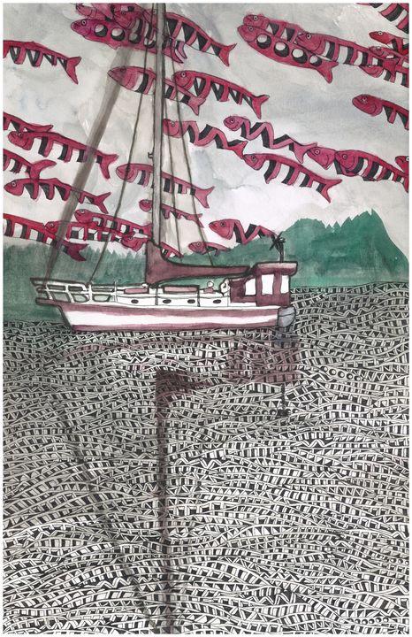 boat - Ben Roback's Art