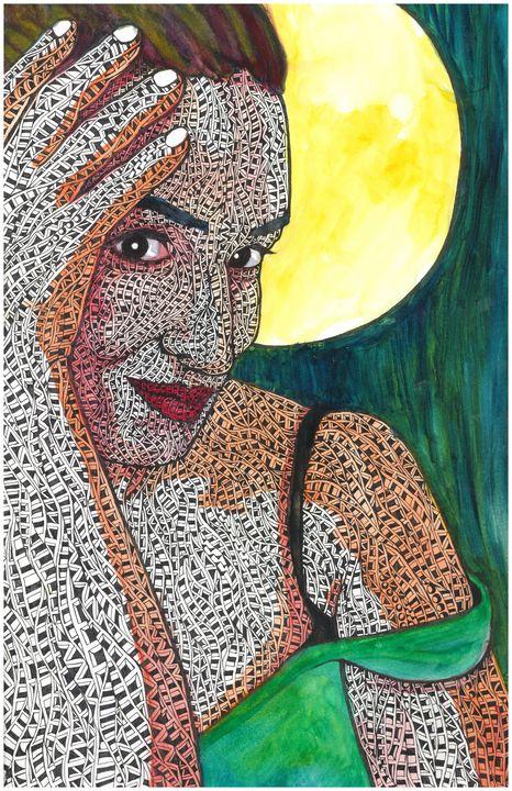 Misstress moon - Ben Roback's Art