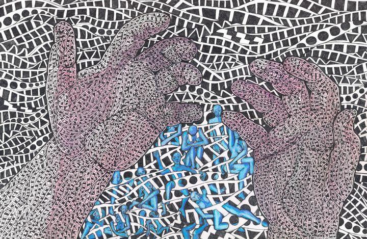writen in the water - Ben Roback's Art