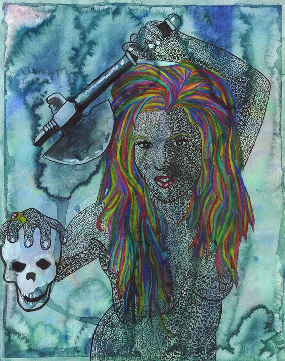 death god - Ben Roback's Art