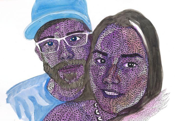 a couple - Ben Roback's Art
