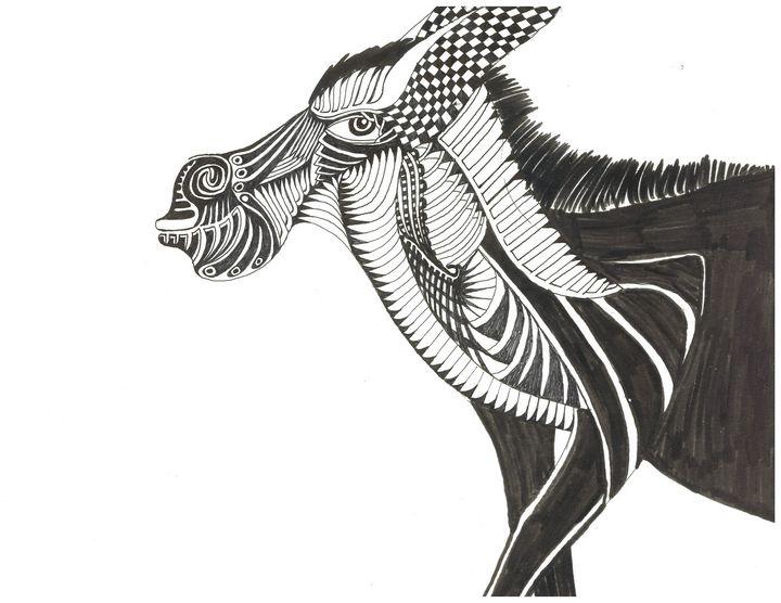 donkie - Ben Roback's Art