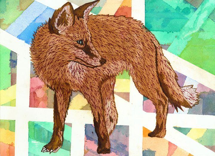 fox - Ben Roback's Art