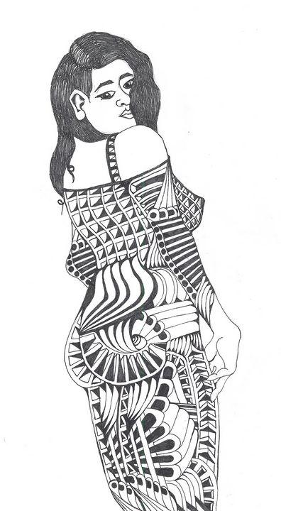 lovely lady - Ben Roback's Art