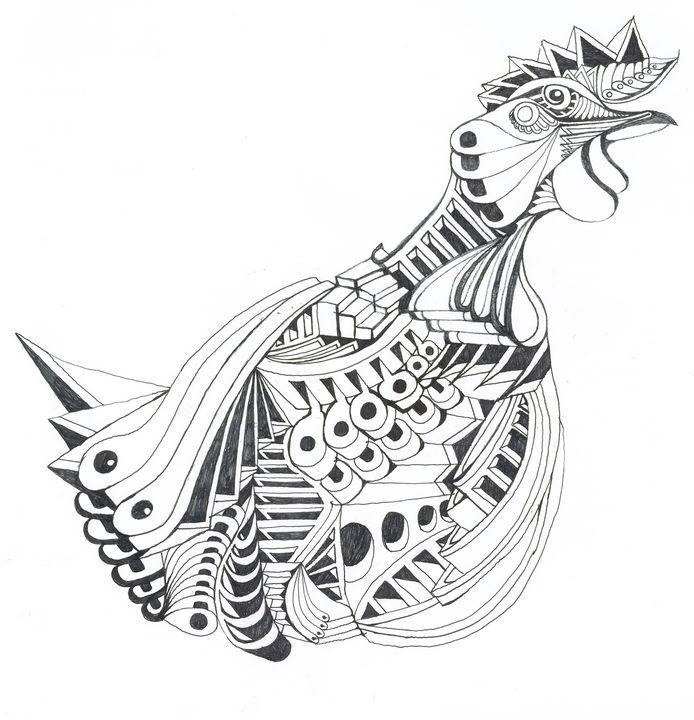 rooster - Ben Roback's Art