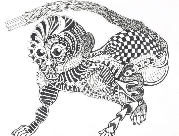 monklie - Ben Roback's Art