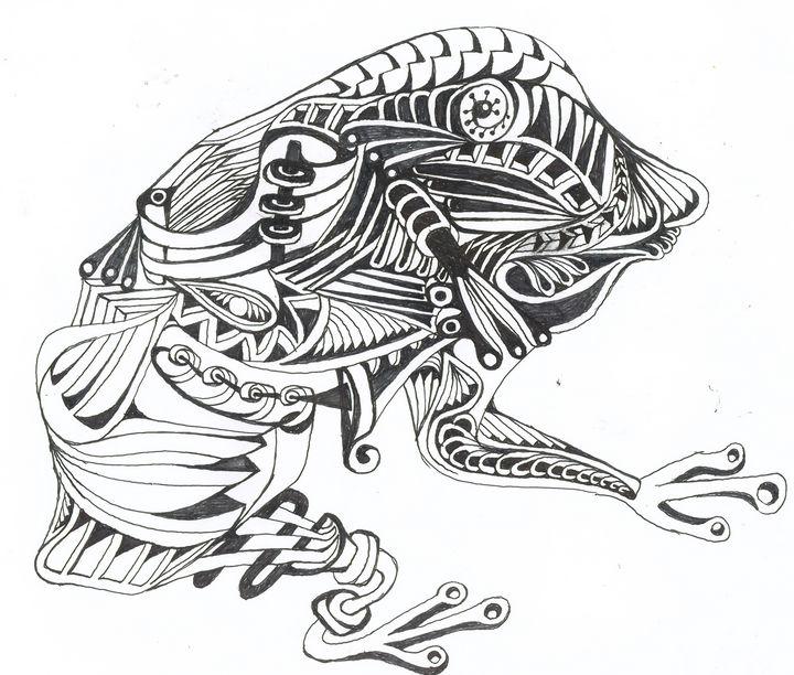 frog - Ben Roback's Art