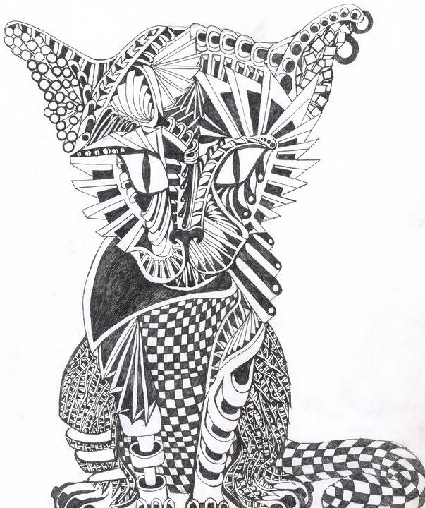 covid cat - Ben Roback's Art