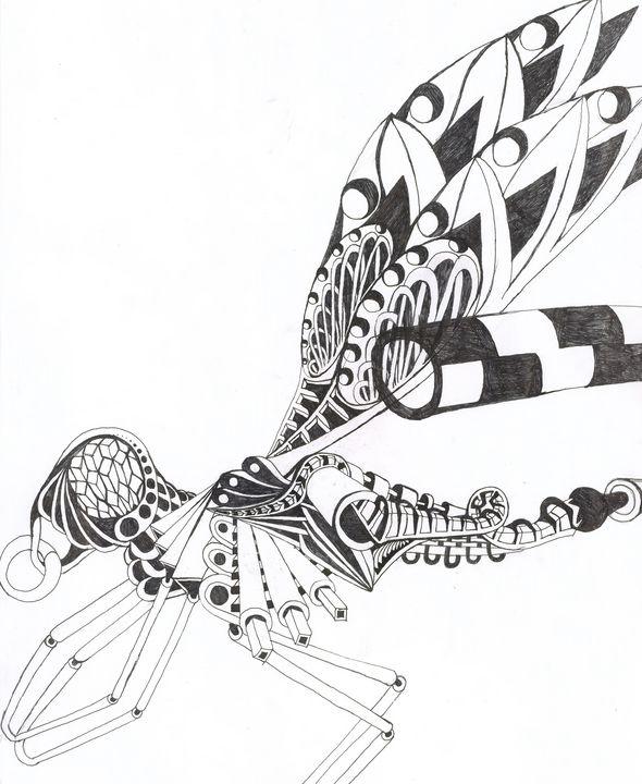dragon flie - Ben Roback's Art
